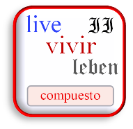spanisch vivir konjugieren